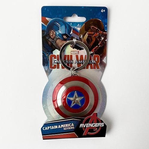 Marvel Avengers - Llavero Metálico Escudo del capitán América Alhershop