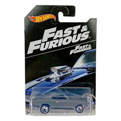Hot Wheels - 70 Chevelle SS (2017) Fast & Furious