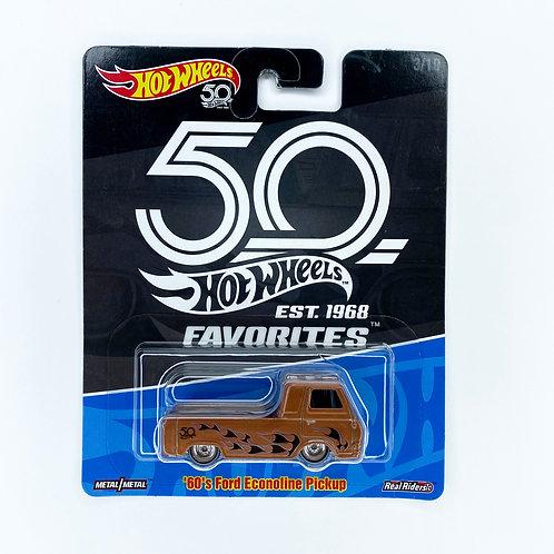 Hot Wheels 50 Años - 60s Ford Econoline Pickup Alhershop