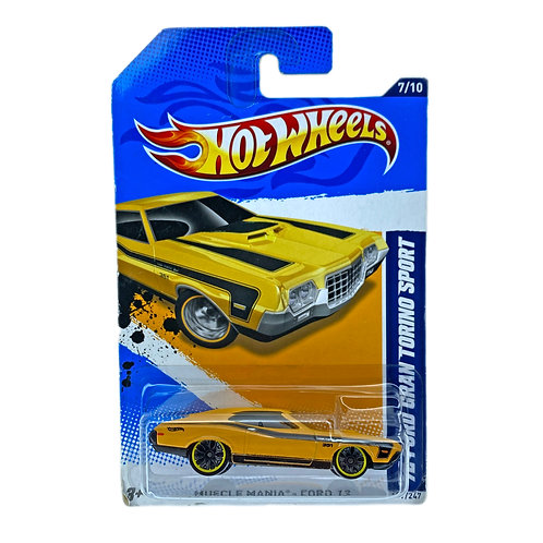 Hot Wheels - 72 Ford Gran Torino Sport Alhershop