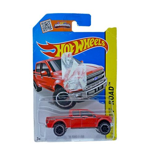 Hot Wheels - 15 Ford F-150 (2014) Alhershop