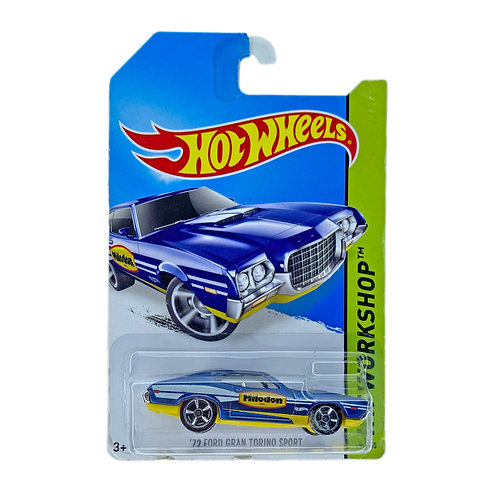 Hot Wheels - 72 Ford Gran Torino Sport (2014) Alhershop