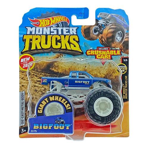 Hot Wheels Monster Trucks - Bigfoot (2020) Alhershop