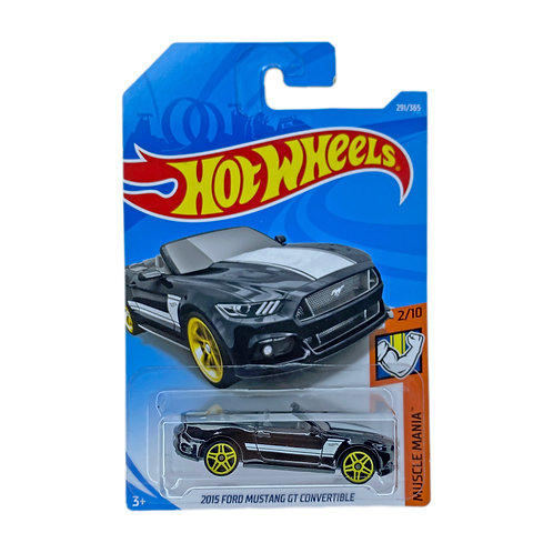 Hot Wheels - 2015 Ford Mustang GT Convertible (2018) Alhershop
