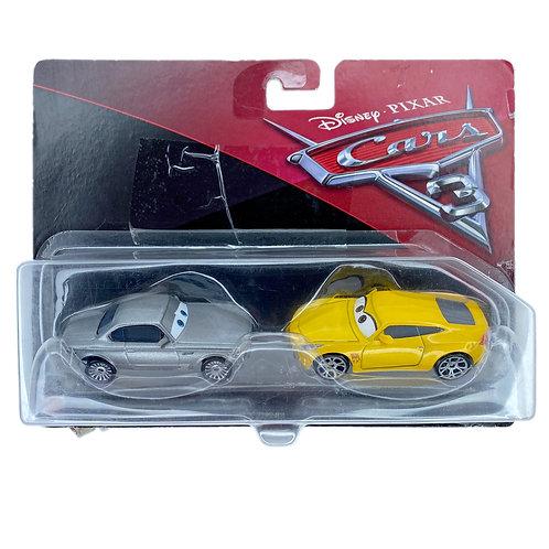 Cars Disney Mattel Pack Sterling / Cruz Ramirez Alhershop