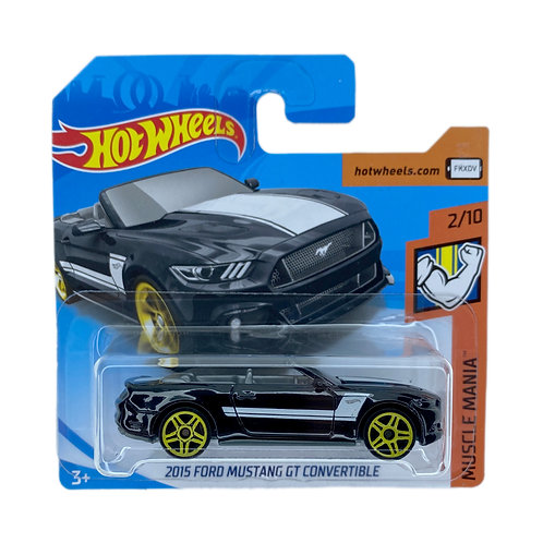 Hot Wheels - 2015 Ford Mustang GT Convertible (2018) TC Alhershop
