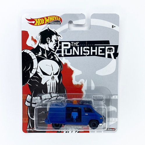 Hot Wheels - Punisher Van Alhershop