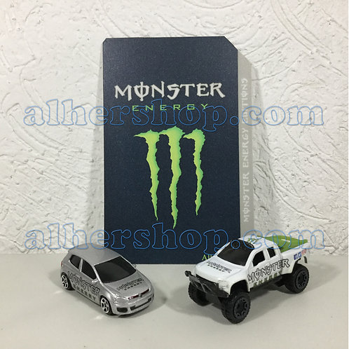 Alhershop - Tarjeta personalizada Monster