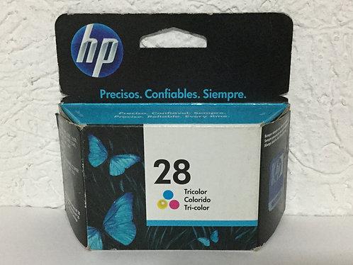 HP - Cartucho para Impresora 28 Tricolor