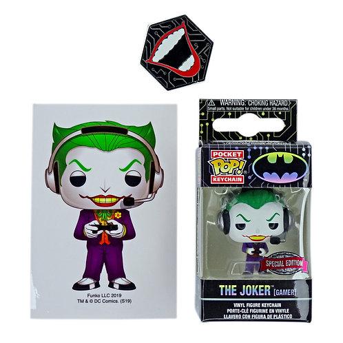 Funko Pocket Pop Keychain - The Joker Gamer (Batman) Alhershop