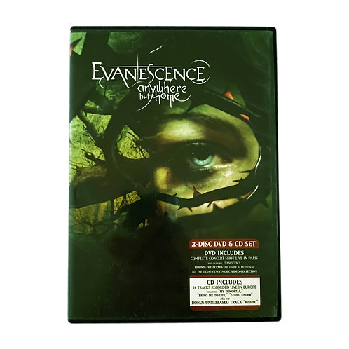 Evanescence - Anywhere but home CD + DVD Alhershop