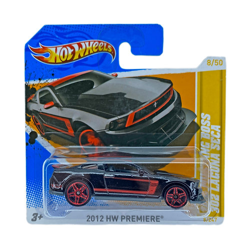 Hot Wheels - 2012 Mustang Boss 302 Laguna Seca (2012) Alhershop