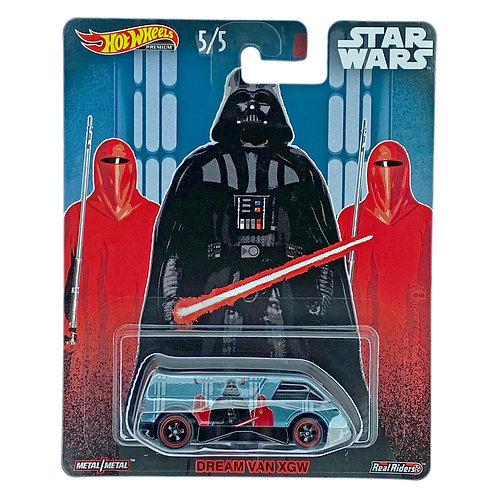 Hot Wheels - Dream Van Xgw (2020) Star Wars Darth Vader Alhershop