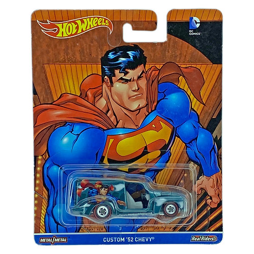 Hot Wheels Premium - Custom 52 Chevy Superman (2017) G Alhershop
