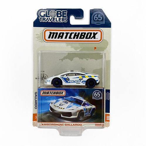 Matchbox 65 Aniversario - Lamborghini Gallardo (2018) Police Alhershop