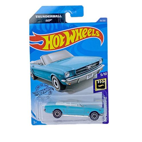 Hot Wheels - 65 Ford Mustang Convertible (2019) 007 Thunderball Alhershop