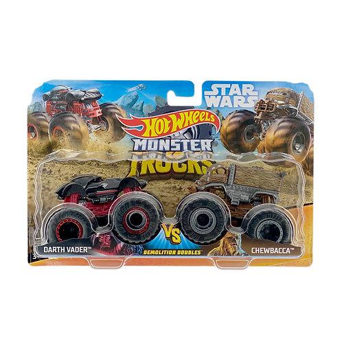 Hot Wheels Monster Trucks - Darth Vader / Chewbacca (2020) Star Wars Alhershop