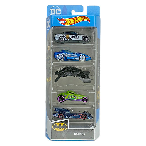 Hot Wheels - 5 Pack Batman
