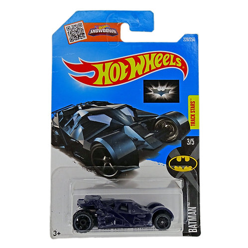 Hot Wheels - The Dark Knight Batmobile (2016) Azul Alhershop