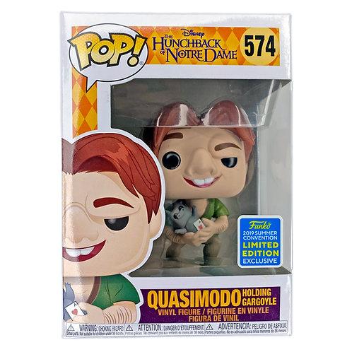 Funko Pop - Quasimodo holding Gargoyle (The Hunchback Notre Dame) 574 limited Edition Alhershop