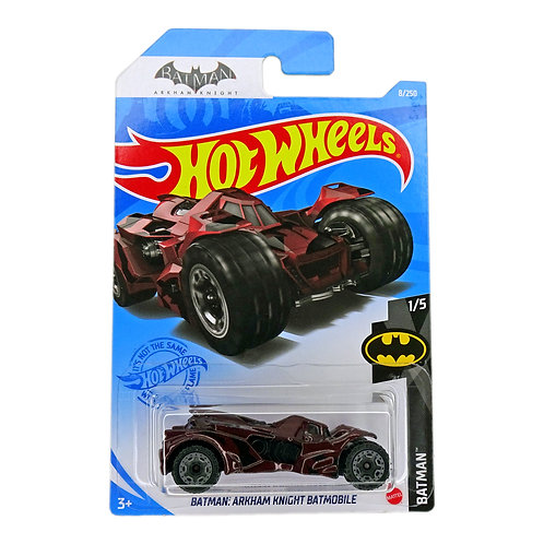 Hot Wheels - Batman: Arkham Knight Batmobile (2019) rojo Alhershop