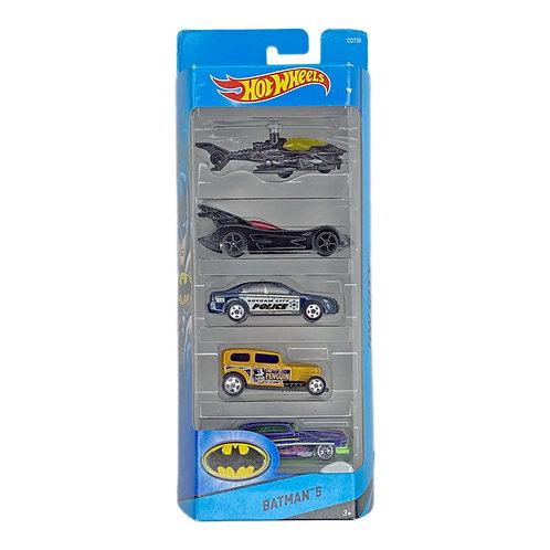 Hot Wheels - 5 Pack Batman (2016) City Alhershop