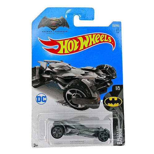 Hot Wheels - Batmobile (2016) Batman V Superman gris Alhershop