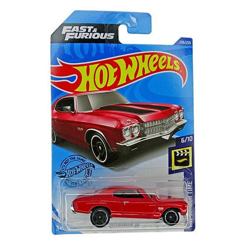 Hot Wheels - 70 Chevelle SS (2019) Fast & Furious Alhershop