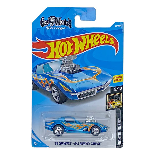 Hot wheels - 68 Corvette Gas Monkey Garage (2018) Alhershop