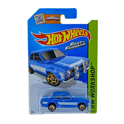 Hot Wheels - 70 Ford Escort RS1600 (2014) Fast & Furious Alhershop
