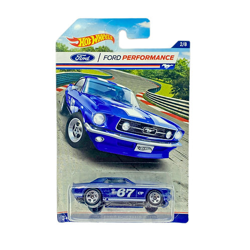 Hot Wheels - 67 Ford Mustang Coupe
