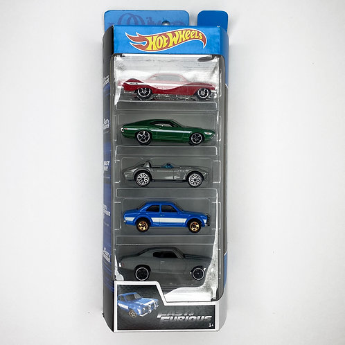 Hot Wheels - 5 Pack Fast & Furious (2019) Alhershop