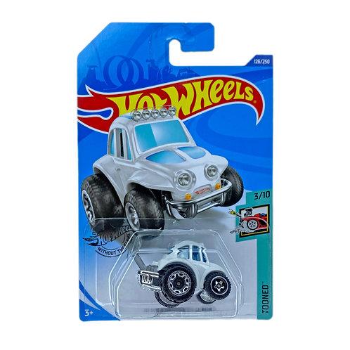 Hot Wheels - 70 Volkswagen Baja Bug (2018) Blanco Alhershop