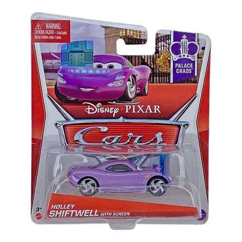 Disney Cars - Holley Shiftwell with Screen (2013) Alhershop