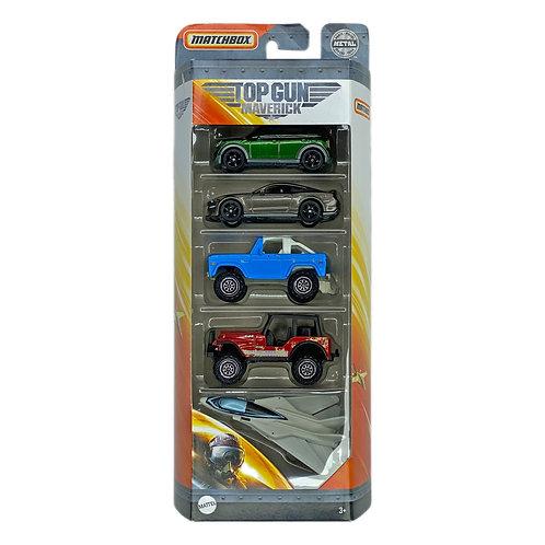 Matchbox - 5 Pack Top Gun Maverick (2020) Jeep Alhershop