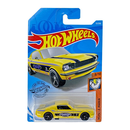Hot Wheels - 65 Mustang 2+2 Fastback