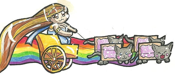 freya__s_nyan_cat_drawn_carriage_by_dagg