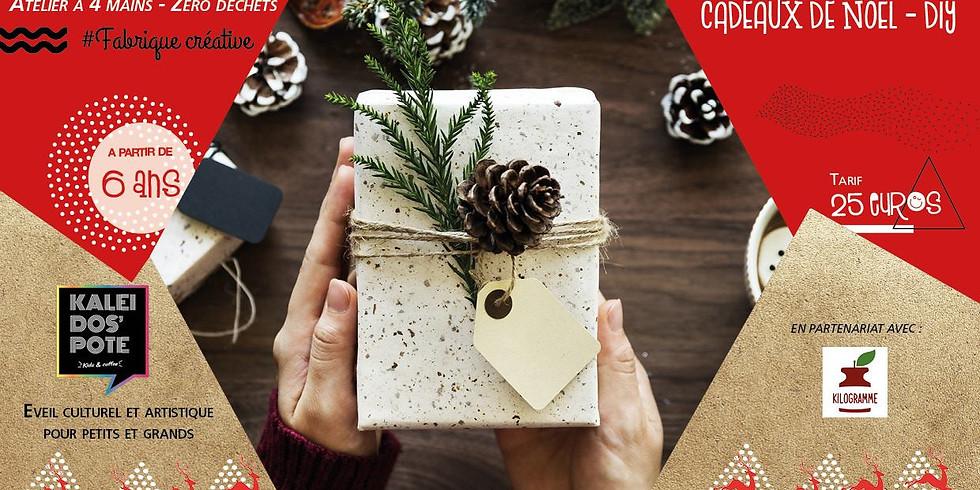 Atelier à 4 mains - Cadeau de Noël - Zéro Déchet