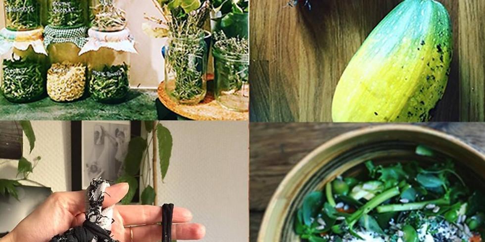 Cuisine Zéro Déchet + DIY Tawashi