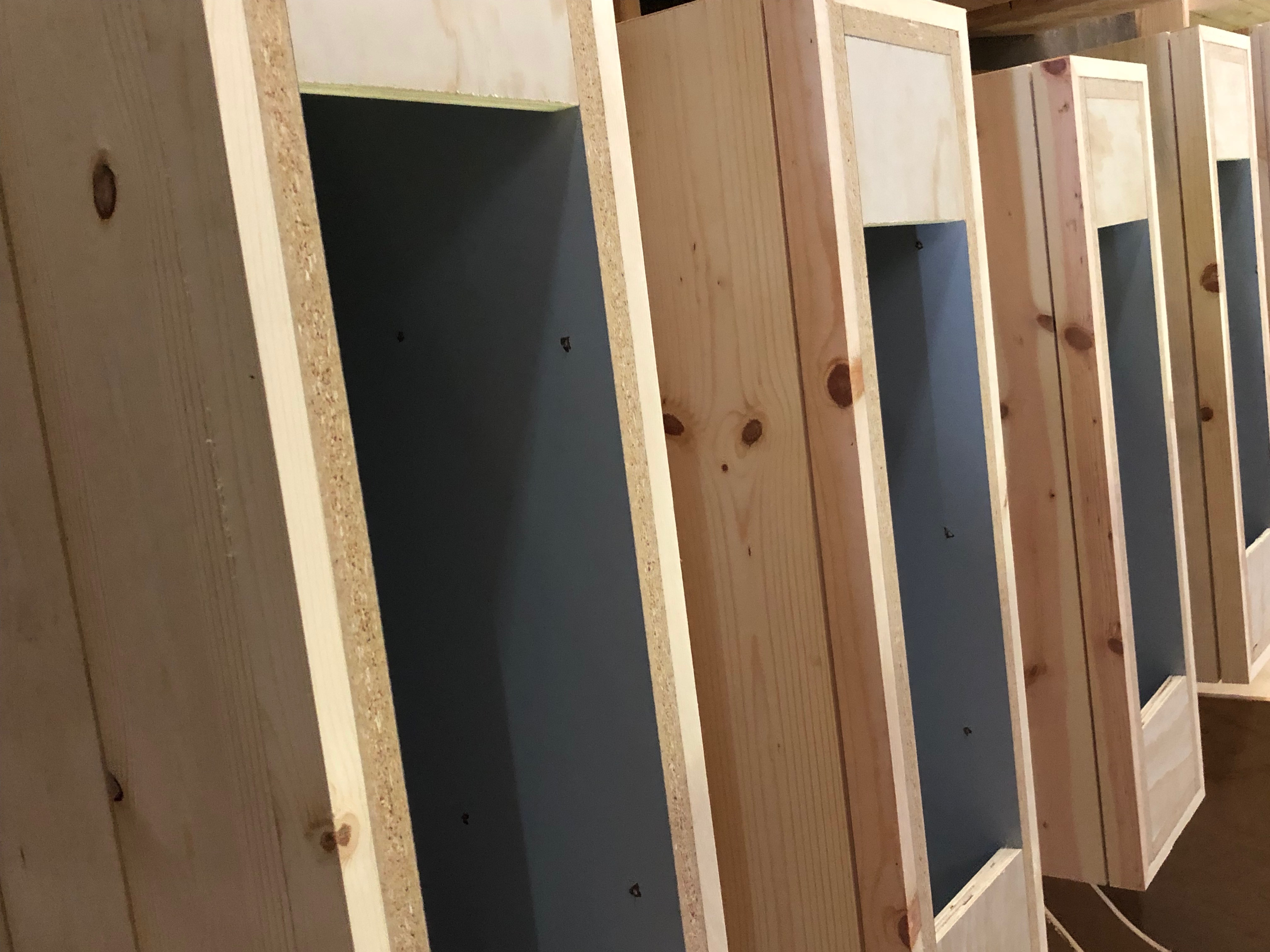 cabinets building process