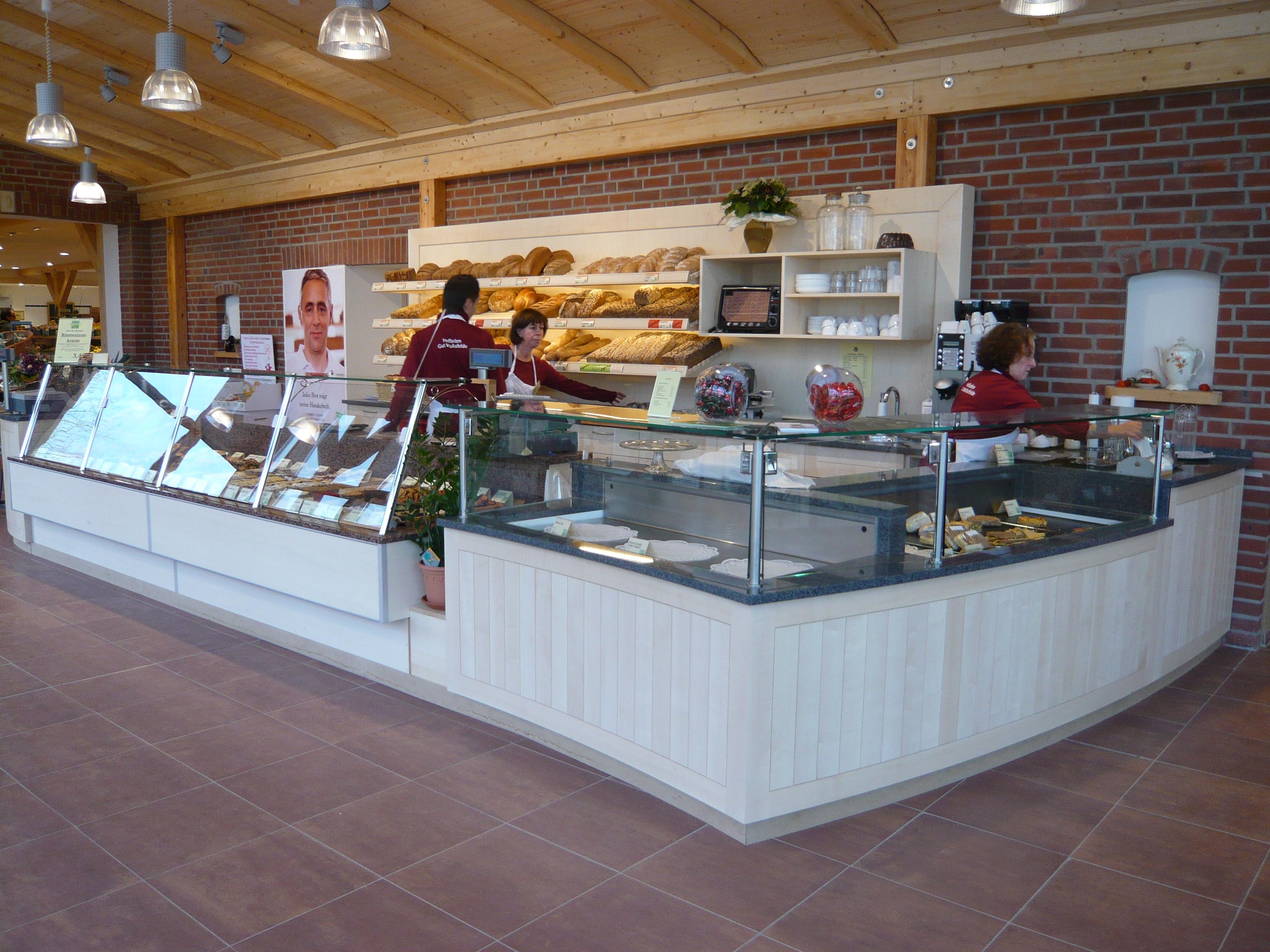 Bäckereiverkauf