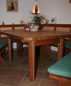 Küche in Kirschbaum und Ahorn