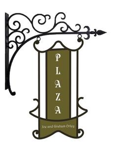 Plaza Hanging Sign