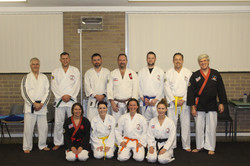 Adult class group photo