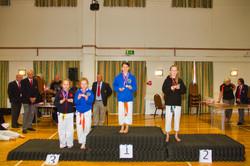 Medal Podium, bronze & gold