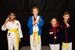 Medal Podium, Gold