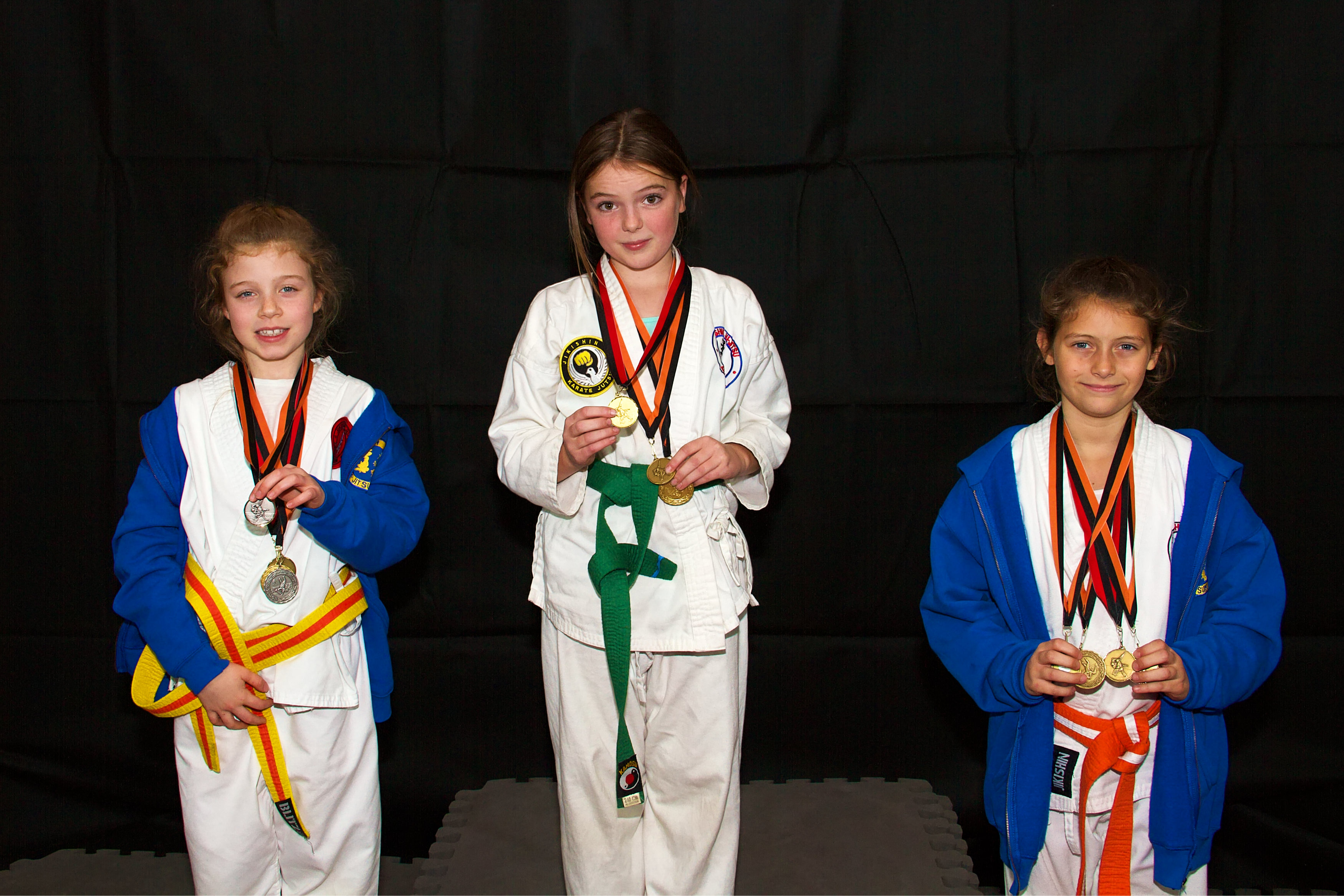 Medal Podium, Silver & Bronze