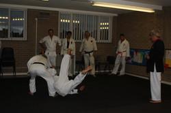 Side breakfall practice