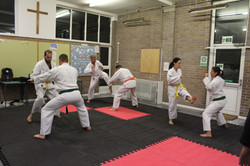 Kicking Practise