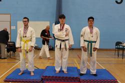 Medal Podium, winning silver
